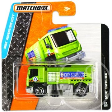 Matchbox: MBX Adventure City: MBX Swisher kisautó
