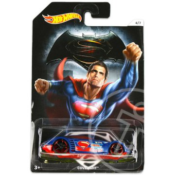 Hot Wheels DC Batman vs Superman kisautók: Covelight