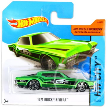 Hot Wheels City: 1971 Buick Riviera kisautó - zöld