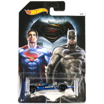 Hot Wheels DC Batman vs Superman kisautók: Twin Mill
