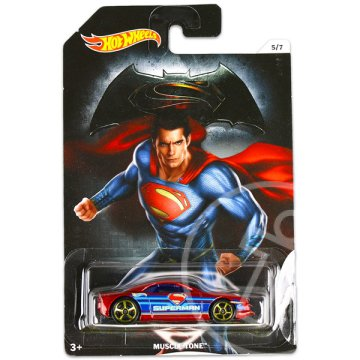 Hot Wheels DC Batman vs Superman kisautók: Muscle Tone