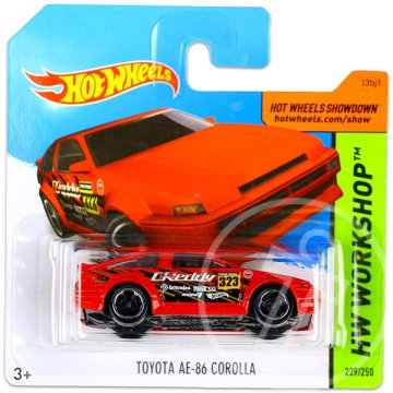 Hot Wheels Workshop: Toyota AE-86 Corolla kisautó