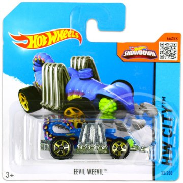 Hot Wheels City: Eevil Weevil kisautó - kék