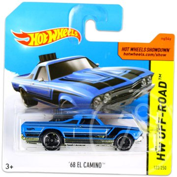 Hot Wheels Off-Road: 68 El Camino kisautó