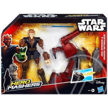 Hero Mashers: Star Wars Jedi Speeder és Anakin Skywalker