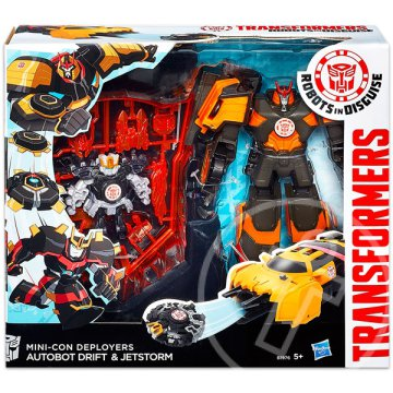 Transformers Mini-Con Deployers: Autobot Drift és Jetstorm