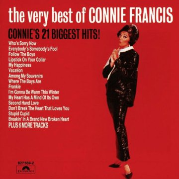 The Very Best of Connie Francis CD