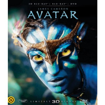 Avatar 3D Blu-ray+DVD