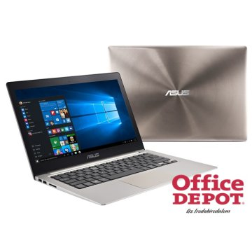 "ASUS ZenBook UX303UB-R4076T 13,3"" FHD IPS/Intel Core i7-6300U/8GB/256GB SSD/GeForce 940M 2GB/Win10/barna notebook"