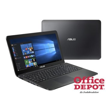 "ASUS X554SJ-XX054D 15,6""/Intel Celeron N3150/4GB/500GB/GeForce 920M 1GB/DVD író/fekete notebook"