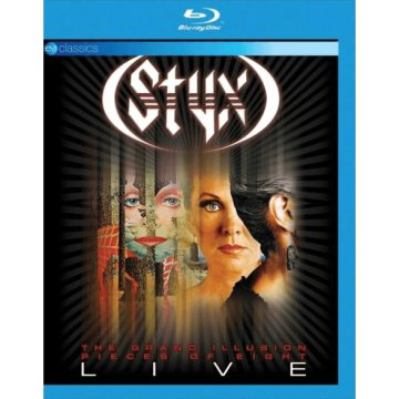 The Grand Illusion / Pieces Of Eight - Live Blu-ray