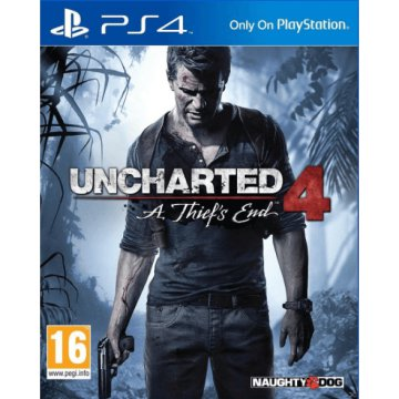 PS4 UNCHARTED 4 SP