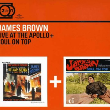 Live at The Apollo / Soul on Top CD
