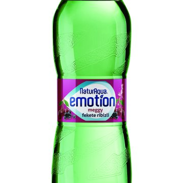 Naturaqua Emotion 0,5l PET meggy-feketeribizli