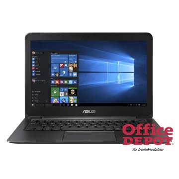 "ASUS ZenBook UX305CA-FC209T 13,3"" FHD/Intel Core M7-6Y75/8GB/256GB SSD/Win10/fekete notebook"