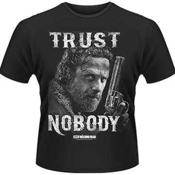 The Walking Dead - Trust Nobody T-Shirt L