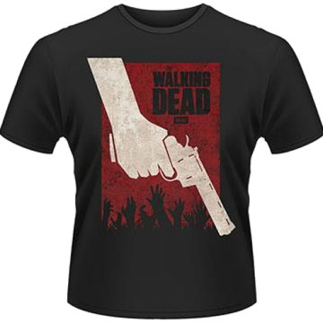The Walking Dead - Revolver T-Shirt XL