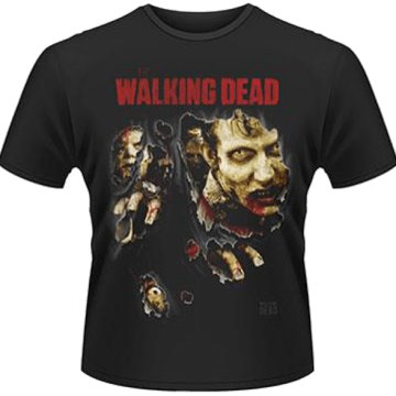 The Walking Dead - Zombies Ripped T-Shirt L