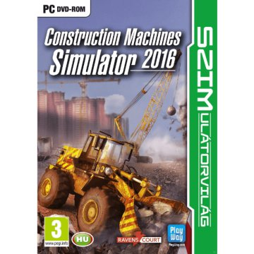 Construction Machines Simulator 2016 PC