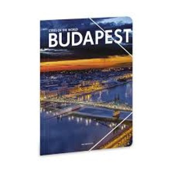 Budapest A4 gumis mappa