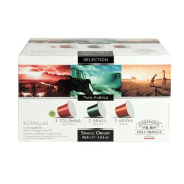 DAR057 NES. SELECTION OF SINGLE ORIGIN Nespresso kompatibilis kapszula