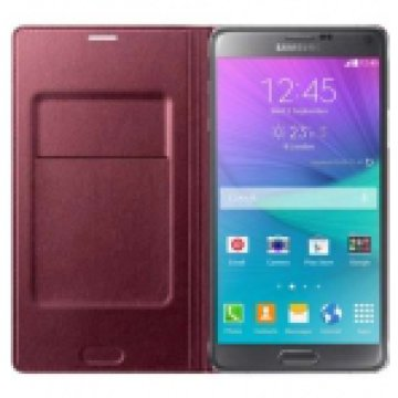 SAMSUNG EF-WN910BREGWW FLIP WALLET NOTE4,RED