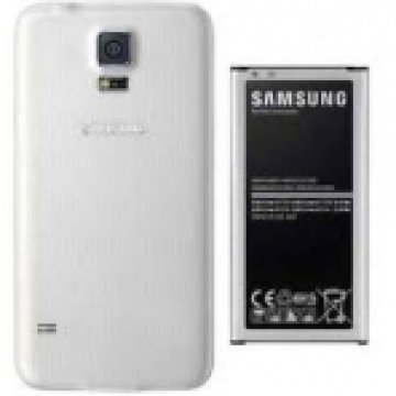 SAMSUNG EB-EG900BWEGWW EXTENDED BATTERY KIT S5 White