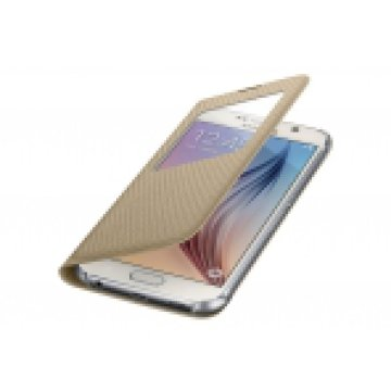SAMSUNG EF-CG920BFEGWW S VIEW COVER S6 GOLD