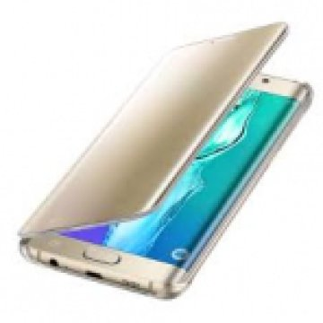 SAMSUNG EF-ZG928CFEGWW CLEAR VIEW COVER S6 EDGE+ GOLD