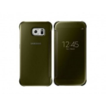 SAMSUNGB EF-ZG920BFEGWW CLEAR VIEW COVER S6 GOLD