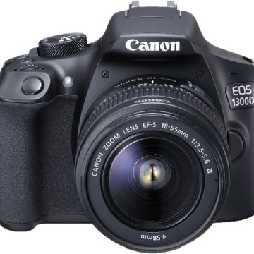 EOS 1300D + 18-55 mm DC Kit