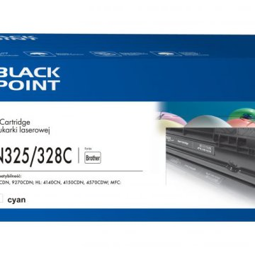 Black Point színes toner LCBPBTN325_328C (Brother TN-325C / TN-328C) kék