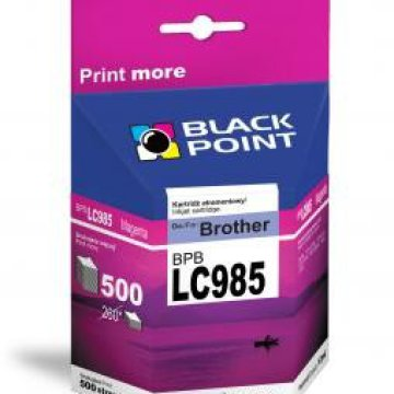 Black Point patron BPBLC985XLM (Brother LC985M) piros
