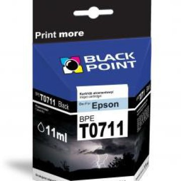 Black Point patron BPET0711 (Epson T0711) fekete