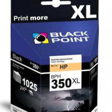 Black Point patron BPH350XL (HP CB336EE) fekete