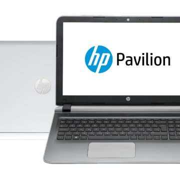 "Pavilion 15-AB221nh fehér notebook (15,6"" Full HD IPS/Core i5/8GB/1TB/GT940 4GB VGA/DOS)"
