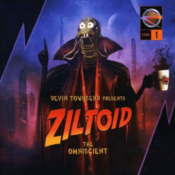 Presents - Ziltoid The Omniscient CD