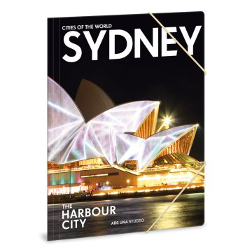 Ars Una Cities Sydney A4 gumis mappa