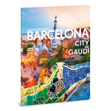 Ars Una Cities Barcelona A4 gumis mappa