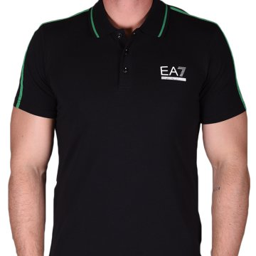 MANS KNIT POLO     BRGHTGREEN