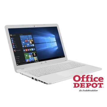 "ASUS X540LA-XX102T 15,6""/Intel Core i3-4005U/4GB/500GB/DVD író/Win10/fehér notebook"
