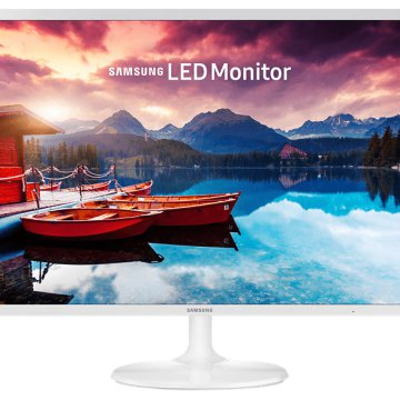 "S32F351F 32"" Full HD PLS fehér monitor"