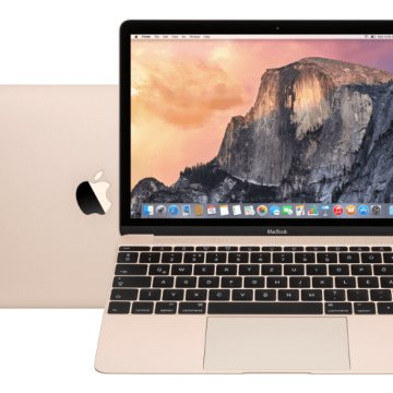 "MacBook 12"" arany 2016 (Retina Core M5 1.2GHz/8GB/512GB/Intel HD 515) mlhf2mg/a"