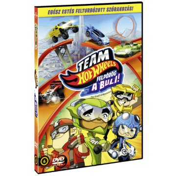 Team Hot Wheels - Felpörög a buli! DVD