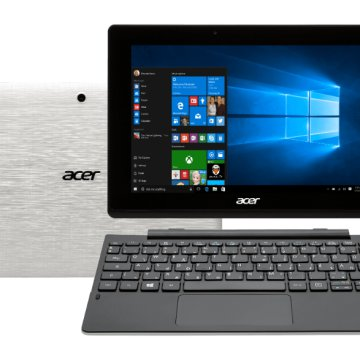 "Aspire Switch 10 E 2in1 eszköz fehér NT.MX1EU.007 (10,1"" IPS/Intel Atom/64GB eMMC/Windows 10)"