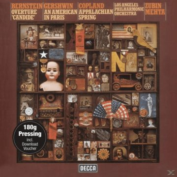 Overture Candide - An American in Paris - Appalachian Spring LP