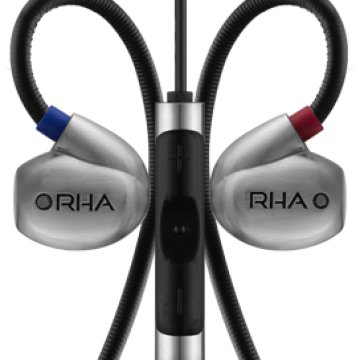 RHA T20i In-Ear headset ezüst