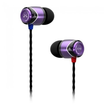 SoundMAGIC E10 In-Ear fülhallg lila-fekete