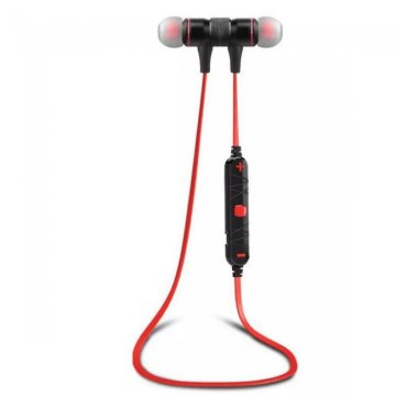 AWEI A920BL Bluetooth headset piros