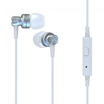 SoundMAGIC MP21 In-Ear fülhallgató headset, ezüst